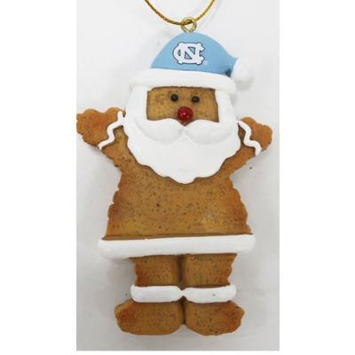 UNC Resin Cookie Dough Santa Ornament