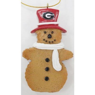 Georgia Resin Cookie Dough Snowman Ornament