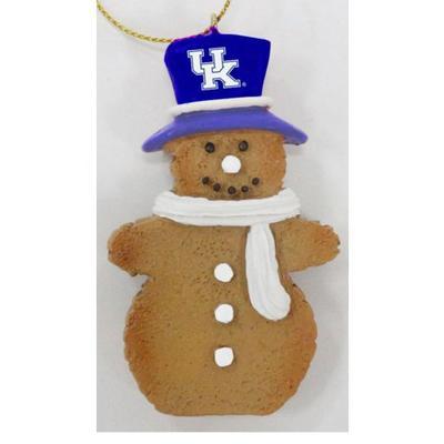 Kentucky Resin Cookie Dough Snowman Ornament