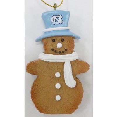 UNC Resin Cookie Dough Snowman Ornament