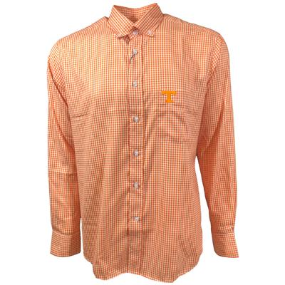 Tennessee Pennington And Bailes Stretch Gingham Long Sleeve