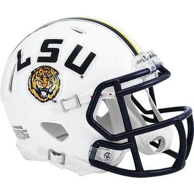 LSU Riddell VSR4 Mini Helmet