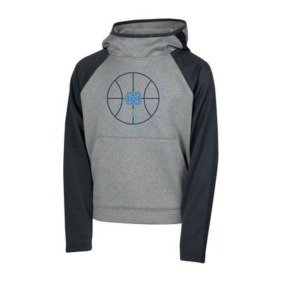 UNC Nike Jordan Brand Youth Basketball Spotlight Long Sleeve Hoodie