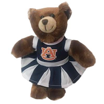 Auburn Plush Cheerleader Bear