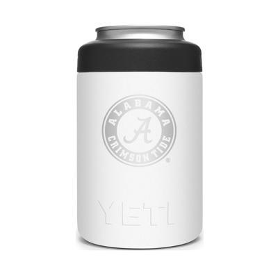Alabama YETI Rambler 12oz Colster - White