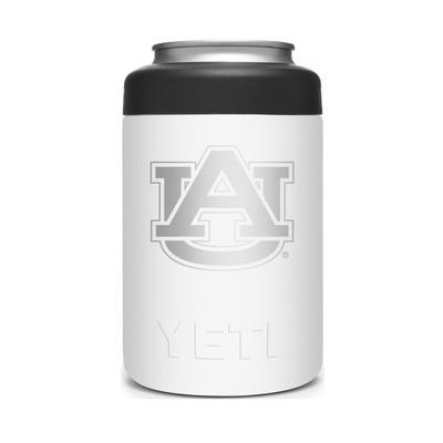 Auburn YETI Rambler 12oz Colster - White