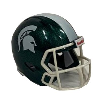 Michigan State Riddell Pocket Helmet - Green