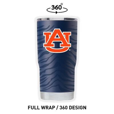 Auburn Gametime Sidekicks Tiger Stripe 20 oz Tumbler