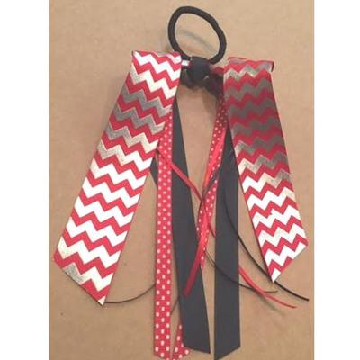 NC State Chevron Ponytail Streamer