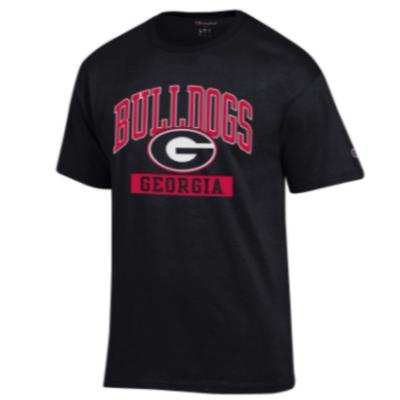 Georgia Champion Men's Arch Bulldogs Tee Shirt