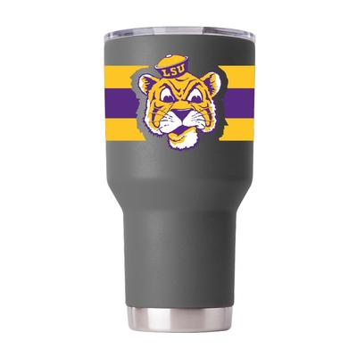 LSU Gametime Sidekicks Cartoon Mike 30 oz Tumbler