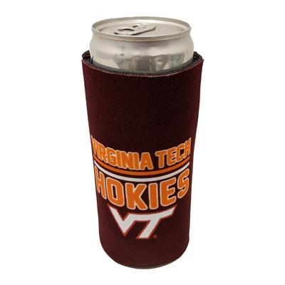 Virginia Tech Slim Can Cooler