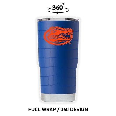 Florida Gametime Sidekicks Scales Wrap 20 oz Tumbler
