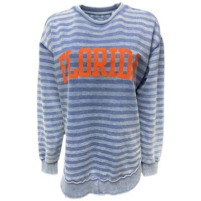 Florida Pressbox Julia Stripe Vintage Fleece