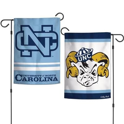 UNC Double Sided Garden Flag 12.5