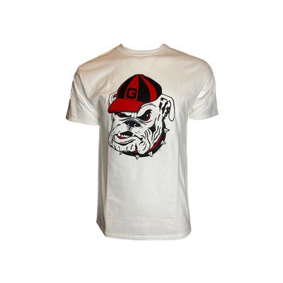 Georgia Champion Men's Giant Bulldog Head Tee Shirt