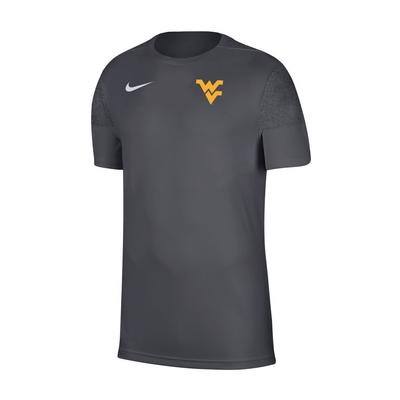 West Virginia Nike Men's Coaches UV Short Sleeve Tee