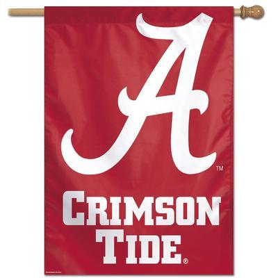 Alabama Script A Vertical Flag 28