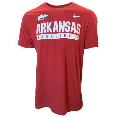 Arkansas Nike Basketball Legend Short Sleeve Tee
