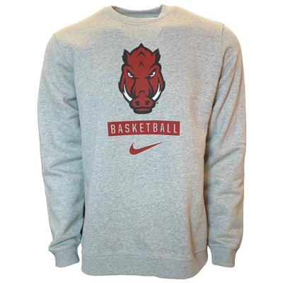 Arkansas Nike Basketball Club Crew Sweatshirt