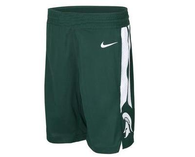 Michigan State Nike YOUTH Replica Basketball Shorts