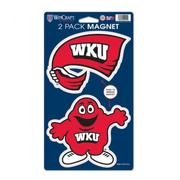 Western Kentucky 2 Pack Magnets