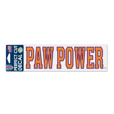Clemson Paw Power Decal