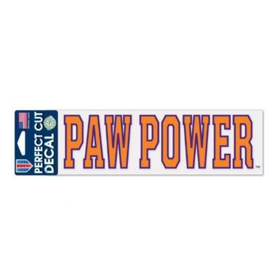 Clemson Paw Power Decal