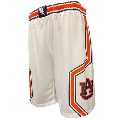 Auburn Tigers Reflex Basketball Shorts WHITE