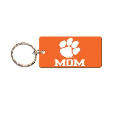Clemson Mom Key Chain