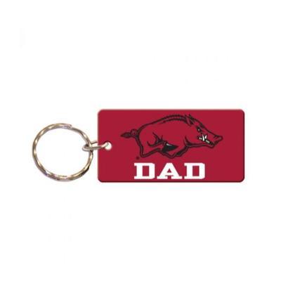 Arkansas Dad Key Chain