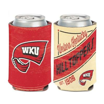 Western Kentucky 12 oz Vintage Can Cooler