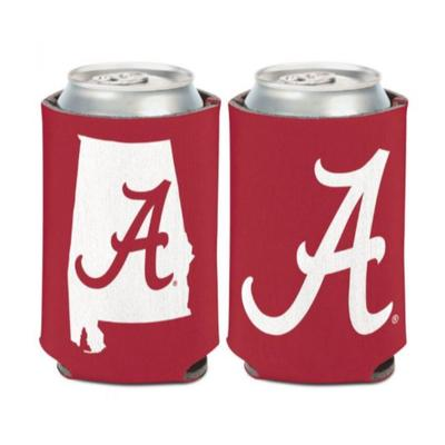 Alabama 12 oz State Can Cooler