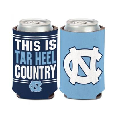UNC Tar Heel Country 12 oz Can Cooler