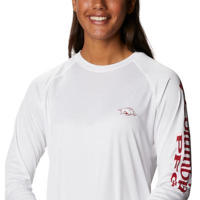 Arkansas Columbia Women's Tidal Long Sleeve Shirt