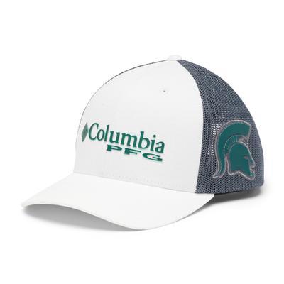 Michigan State Columbia PFG Mesh Snap Back Hat