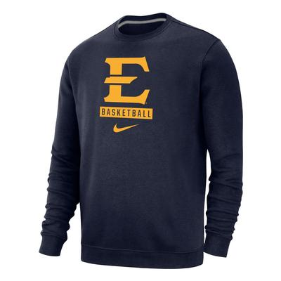 ETSU Nike Club Fleece Basketball Crew
