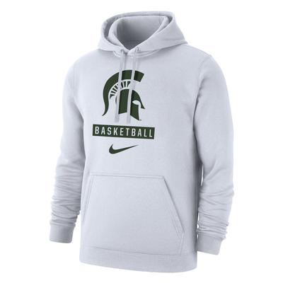 Michigan State Nike Club Fleece Basketball Crew