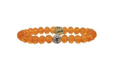 Erimish Orange Kayla Stackable Bracelet