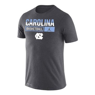 UNC Nike Men's Basketball Dri-Fit Legends Short Sleeve Tee