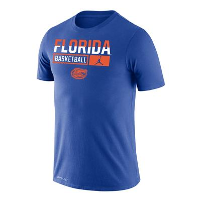 Florida Jordan Brand Dri-Fit Legend Short Sleeve Basketball Tee