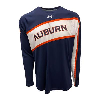 Auburn Under Armour Men's Crew Basketball Shirt