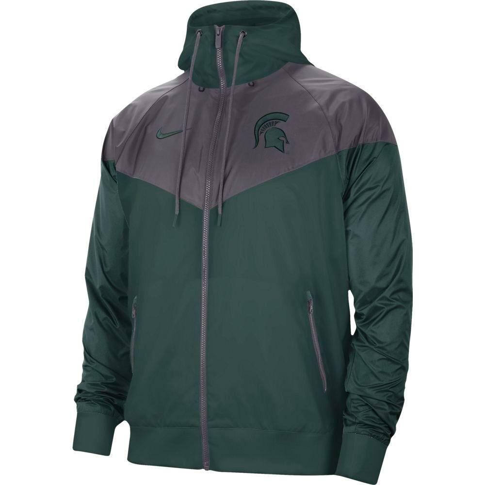 Michigan State Nike Men's Windrunner Jacket