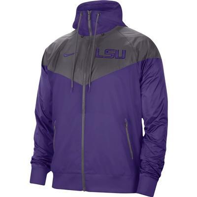 LSU Nike Men's Windrunner Jacket