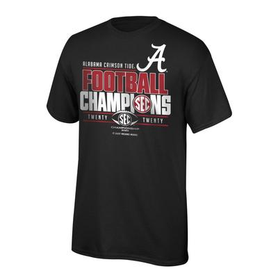Alabama 2020 SEC Champions Short Sleeve Tee