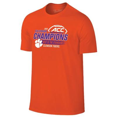 Clemson 2020 ACC Champions Short Sleeve Tee
