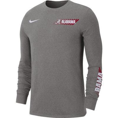 Alabama Nike Men's Dri-Fit Long Sleeve Tee