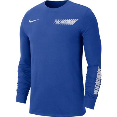 Kentucky Nike Men's Dri-Fit Long Sleeve Tee