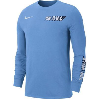 UNC Nike Men's Dri-Fit Long Sleeve Tee
