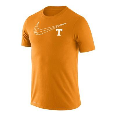 Tennessee Nike Dri-Fit Legend Short Sleeve Basketball Tee